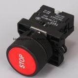 Переключатель кнопка Keyway аварийного стопа при 22mm сверля