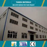 Горячая продавая структура новых материалов стальная для полуфабрикат зданий