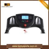 Motor dc inicio Manual de Fitness plegable motorizado de la consola de la cinta de correr motorizada