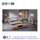 Eichen-Farben-doppeltes Bett-moderne Schlafzimmer-Möbel (SH038#)