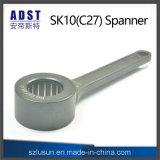 Elevada dureza SK10c27 llave para las pinzas de sujeción portaherramientas