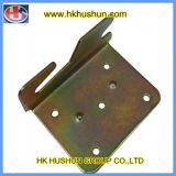Fournir des accessoires de quincaillerie personnalisés, plaque de suspension de zinc en zinc (HS-FS-0011)