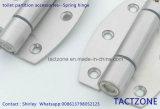 Acessórios para partição de toalete com boa venda Dobradiça de molas de aço inoxidável 304