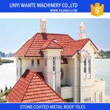 Mattonelle di tetto rivestite del metallo della pietra commerciale di assicurazione di Linyi Wante per la costruzione del tetto della Camera