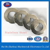 Rondelle à ressort de rondelles en métal de rondelle de freinage de rondelles de contact de l'acier inoxydable Sn70093