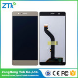 Huawei P9 LCDの白のための100%テストLCDタッチ画面