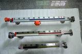 Liquide en acier inoxydable magnétique vumètre