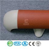 Barandillas vendedoras calientes del pasillo de la aleación del PVC y de aluminio