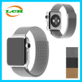 Acero inoxidable Acción de succión magnética Correa de metal para Apple Iwatch