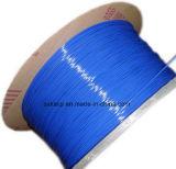 Fil métallique fine en nylon enduit de reliure de livre