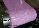 Bobine galvanisée enduite d'une première couche de peinture de fer de la tôle d'acier PPGI
