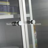 Лидирующий подгонянный шкаф хранения мебели нержавеющей стали (Ymt-7034)