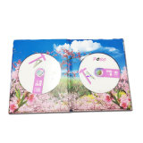 Papel de papelão Customized Design CD Case for Gift