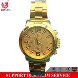 Yxl-415 nova moda em aço inoxidável de quartzo Senhoras relógio de pulso da Placa de Ouro Fino vestido de banda mulheres assistir