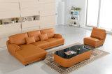 上の本物のイタリアの現代革部門別のソファー
