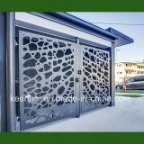 Laser-Schnitt-Haus-Gatter-Aluminium-Entwürfe