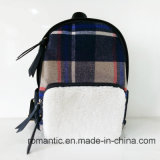 Neue Ankunfts-Form-Dame Canvas Fur Backpack (NMDK-052901)