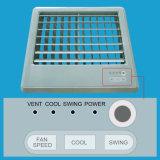 Refroidisseur eau-air évaporatif monté par guichet facile à utiliser en métal