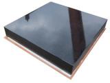 Composants noirs de granit de précision de fortune