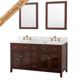 Voeden-1006b het Stevige Houten Kabinet Van uitstekende kwaliteit van het Bad van de Ijdelheid van de Badkamers