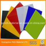 Цвет бросил акриловый лист Acrylic пластмассы PMMA плексигласа листа
