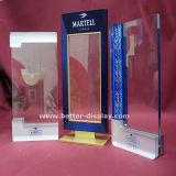 Support de brochure en plexiglas en carton acrylique rotatif Triangle (BTR-H6048)