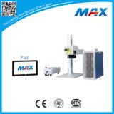 Машина маркировки лазера волокна 20W хорошего цены малая для сбывания