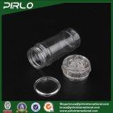 vasi di plastica ecologici del condimento del vaso della spezia di 120ml 4oz con la bottiglia di plastica del pepe della smerigliatrice
