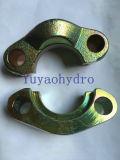 SAE Abrazadera de brida dividida (plano) con chapado de zinc