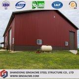Portalrahmen-Stahlaufbau-Lager für Fahrzeug