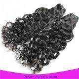 Qualitäts-unverarbeitete kambodschanische Jungfrau-natürliches Wellen-Haar