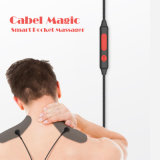 2017 Nouveau Shiatsu Electric Handheld Neck and Back Massager Cable Magic