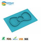 Placa mais a esteira, silicone Placemat do protetor da tabela para miúdos