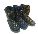 Inverno Sparkling Botas de neve de cristal para senhoras Meninas ao ar livre
