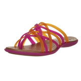 Flops Flip Slip-on комфорта коренастых плоских сандалий первоначально Dressy