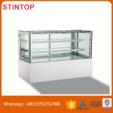 Visor refrigerados comercial Chiller vitrina de bolos caseiros,/refrigerado Mostruário de padaria