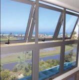 Heißes verkaufendes preiswertes Aluminiumgehangenes Spitzenfenster 2017