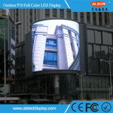 P10 Display LED de exterior com todas as cores para mostrar