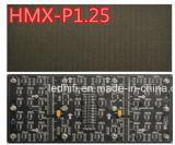 Visualización de LED de alquiler del pequeño pixel de interior con el panel P1.5625 de 200*100m m que hace publicidad del módulo del LED