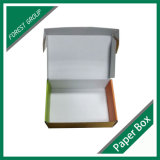 Rectángulos acanalados de empaquetado impresos aduana barata del papel de Matt para enviar