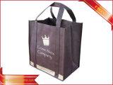 ショッピング・バッグ非編まれたパッキング袋の衣類のトートバック