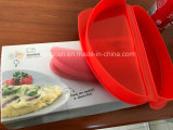 Molde De Fogão De Ovos De Omelete De Silicone De Microondas