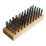 Промышленная полируя блока твёрдой древесины функции жесткая щетка плоского стальная для сбывания