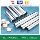 Tubos de acero inoxidables y tubos ASTM A554 201, 304, 316