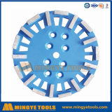 다이아몬드 회전 숫돌 또는 콘크리트를 위해 가는 다이아몬드 컵 바퀴