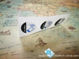 MIFARE® NFC 스티커 꼬리표 RFID Ntag213는 또는 젖은 Hf 애완 동물 상감세공 말린다