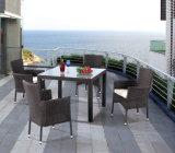 庭またはテラスの屋外の家具(LN-930F)のための柳細工の家具セット
