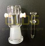 Cupola e chiodo all'ingrosso di Gldg per il tubo di acqua di vetro