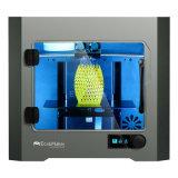 Impressora da Duplo-Extrusora da impressora de Ecubmaker 3D com porta desobstruída e ventiladores traseiros