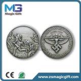 Heiße Verkäufe passten Andenken-antike Silbermedaille an